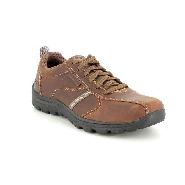 Skechers Casual Shoes - Brown - 64224 LEVOY  SUPERIO 64224