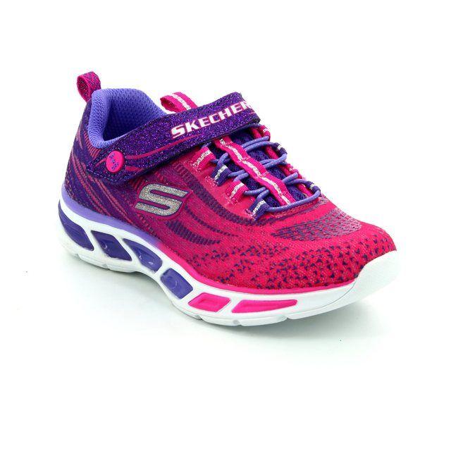 Skechers Litebeams 10667 HPPR Hot pink everyday shoes