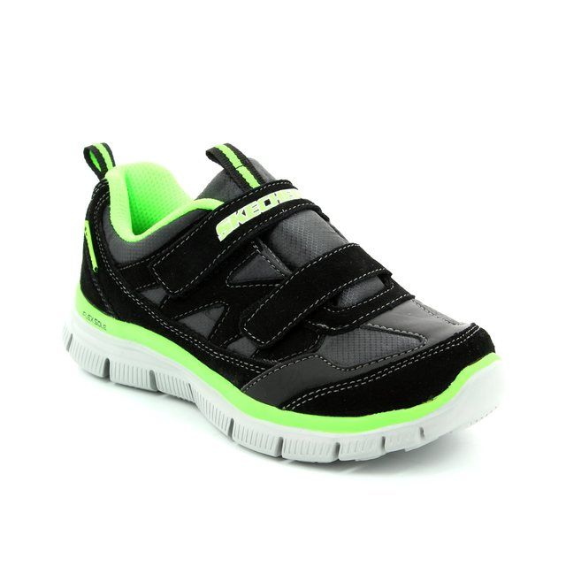 Skechers Everyday Shoes - Black-Lime - 95479 MASTER EXPLORE