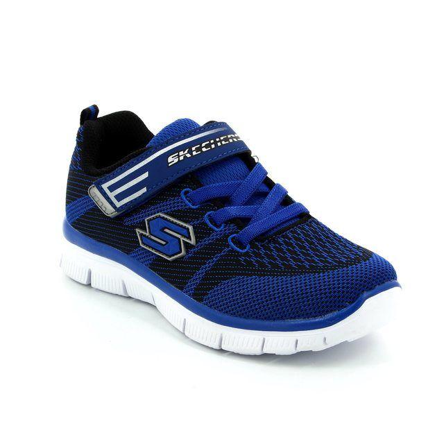Skechers Mastermind Mf 95523 BLUM Blue multi everyday shoes