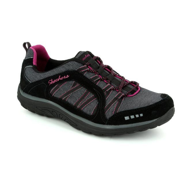 Skechers Lacing Shoes - Black - 49279 MODERN COMFORT