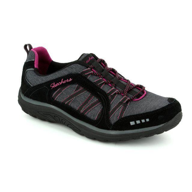 Skechers Lacing Shoes - Black - 49279/017 MODERN COMFORT