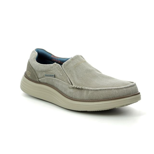 Skechers Casual Shoes - Khaki - 66014 MOSENT