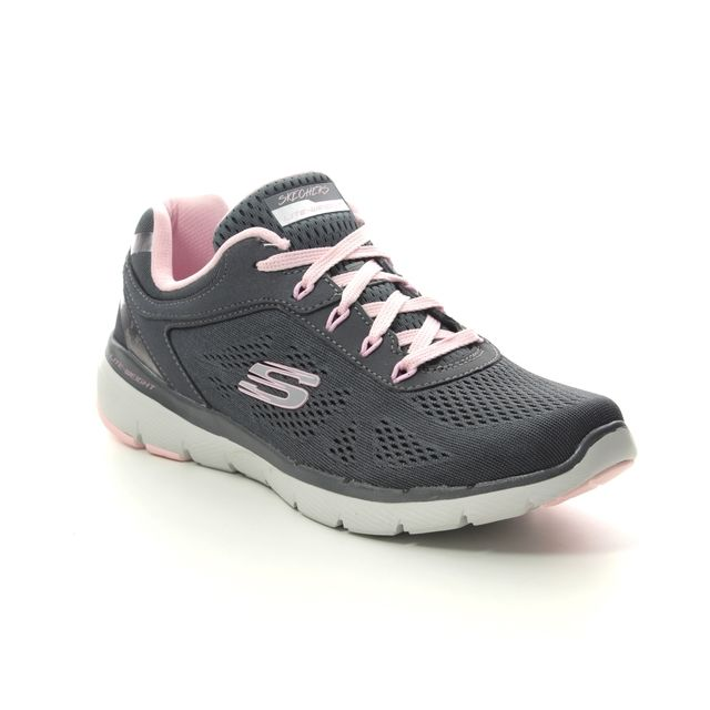 Skechers Trainers - Charcoal - 13059 MOVING FAST FL