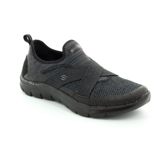 Skechers New Image 12752 BBK Black trainers