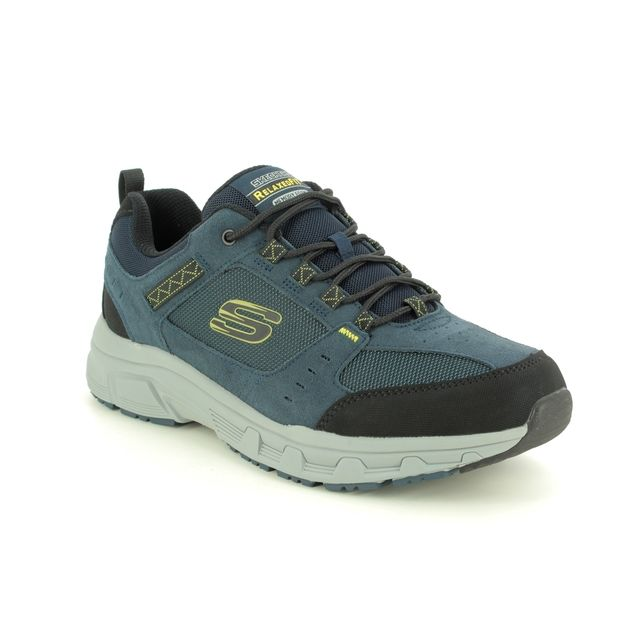Skechers Oak Canyon Relaxed Fit 51893 NVLM Navy trainers
