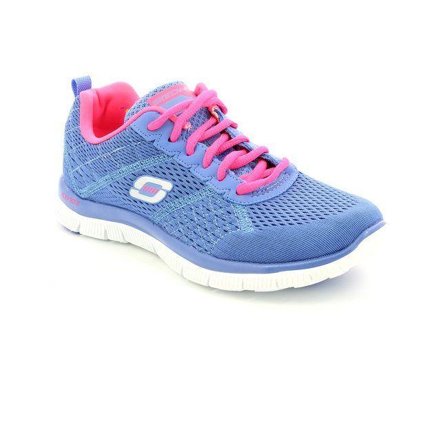 Skechers Trainers - Purple - 12058 OBVIOUS CHOICE
