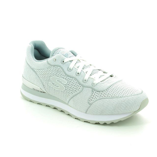 Skechers Og 85 Low Flye 00709 White-silver trainers