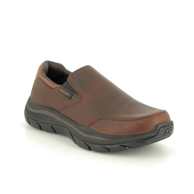 Skechers Slip-on Shoes - Brown - 66416 OLEGO EXPECTED