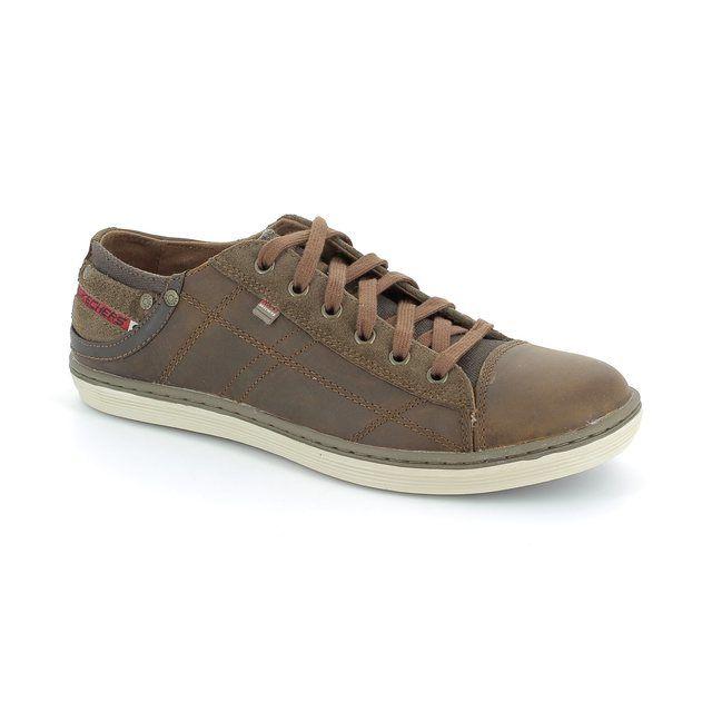 Skechers Pantalone Mf 64242 BRMS Brown fashion shoes