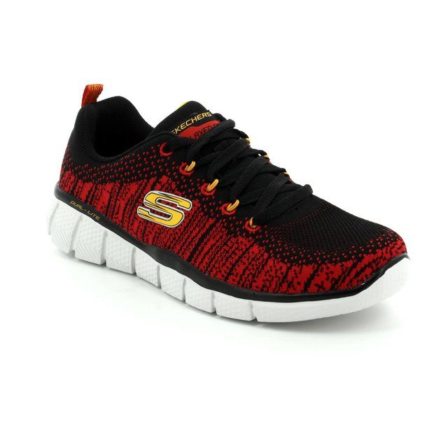 Skechers Perfect Game 97370 BKRD Black-red combi everyday shoes