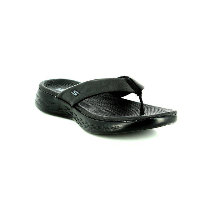Skechers Sandals - Black - 15303 POLISHED 600