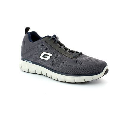 Skechers Power Stitch M 51188 CHAR Charcoal trainers