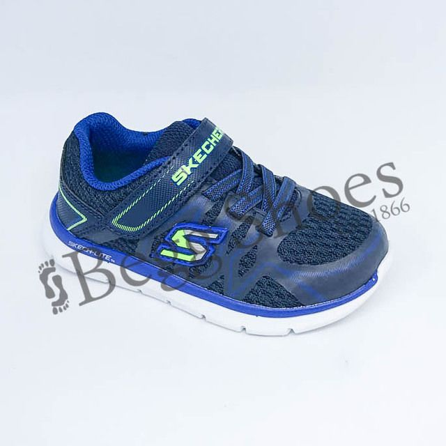 Skechers First Shoes - Navy-Blue - 95046/050 QUICK LEAP