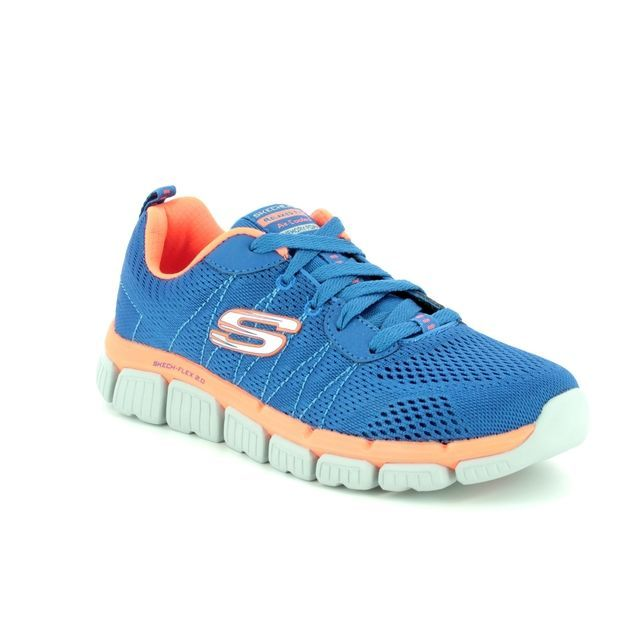 Skechers Trainers - Blue - 97631 QUICK PICK