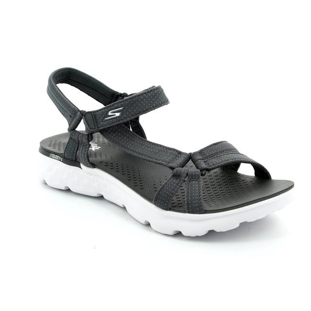 Skechers Radiance 14675 CHAR Charcoal sandals