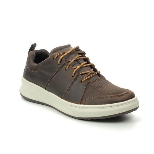 Skechers Casual Shoes - Brown - 210045 RALDEN WANSON