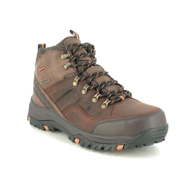 Skechers Outdoor Walking Boots - Brown - 65529 RELMENT TRAVEN