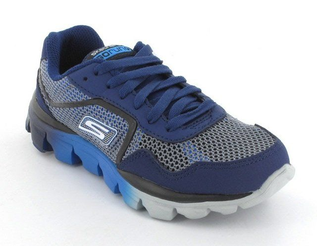 Skechers Everyday Shoes - Navy-Blue - 95672/27 RIDE SUP GO RU 95672