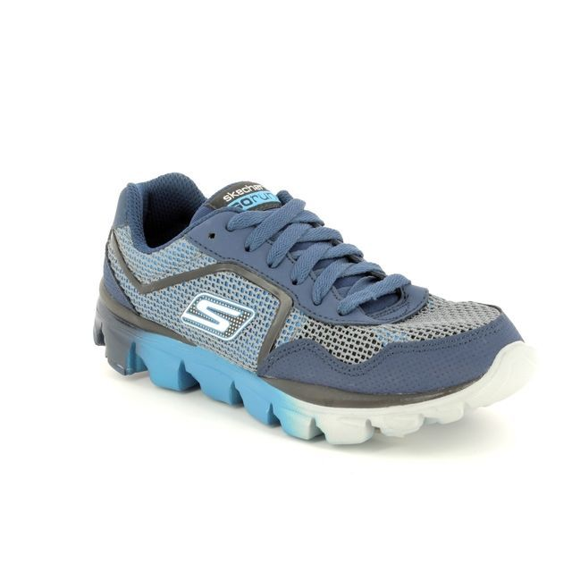 Skechers Everyday Shoes - Navy-Blue - 95672 RIDE SUP GO RU 95672