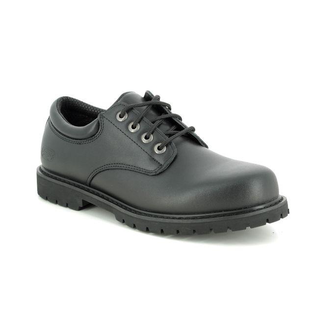 Skechers Formal Shoes - Black - 77041 SAFETY WORK COTTONWOOD
