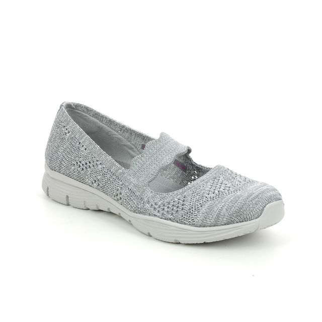 Skechers Mary Jane Shoes - Grey - 158081 SEAGER PITCH OUT