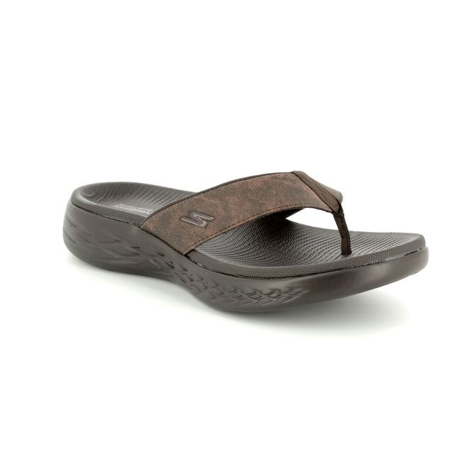 Skechers Sandals - Chocolate brown - 55352 SEAPORT