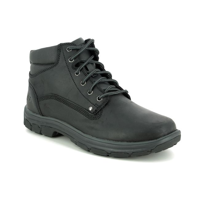 Skechers Boots - Black - 65573 SEGMENT GARNET