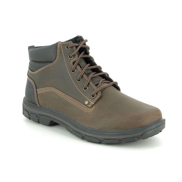 Skechers Boots - Chocolate brown - 65573 SEGMENT GARNET