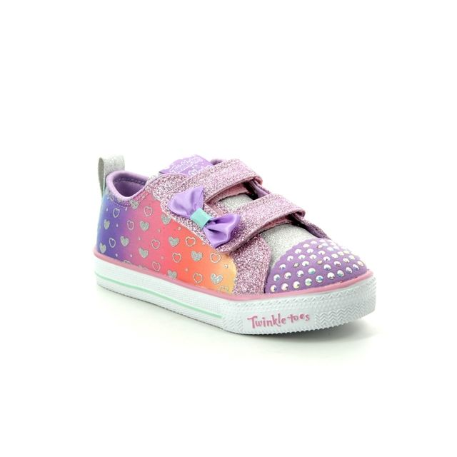 Skechers First Shoes - Violet blue - 20135 SHUFFLE LITE