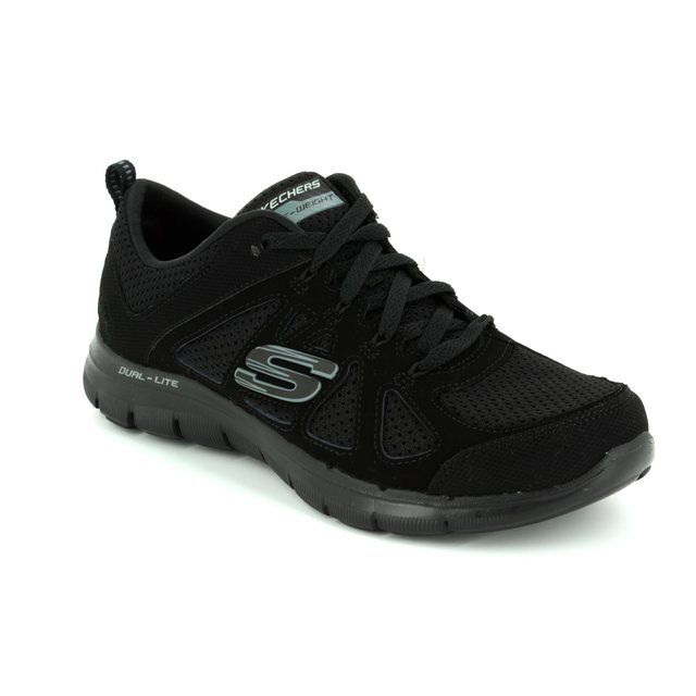 Skechers Trainers - Black - 12761 SIMPLISTIC