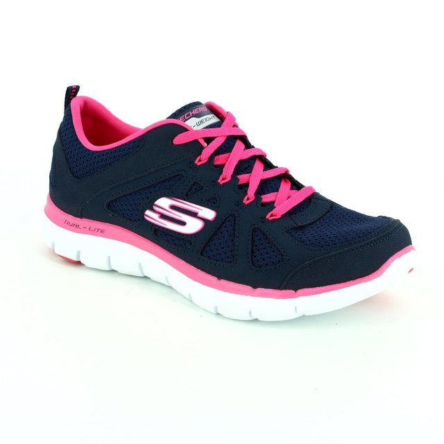 Skechers Trainers - Navy - 12761 SIMPLISTIC