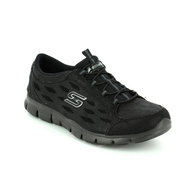 Skechers Trainers - Black - 22774/007 SIMPLY SERENE