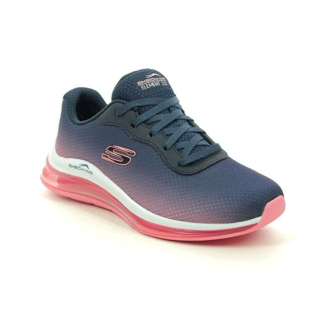 Skechers Trainers - Navy Pink - 149062 SKECH AIR 2.0