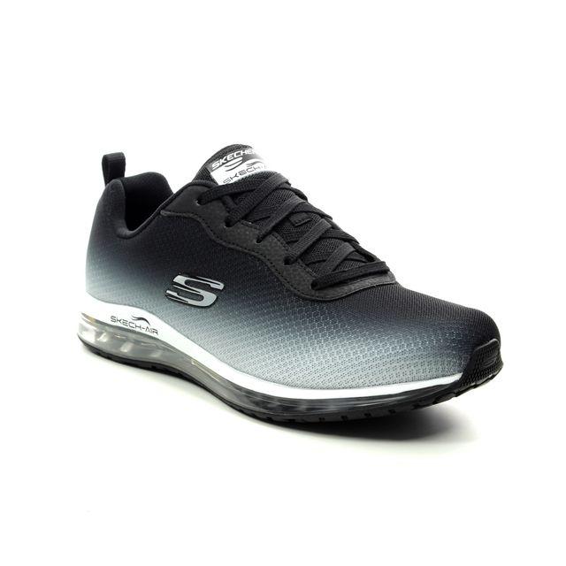 Skechers Trainers - Black-white - 12640 SKECH AIR ELEM