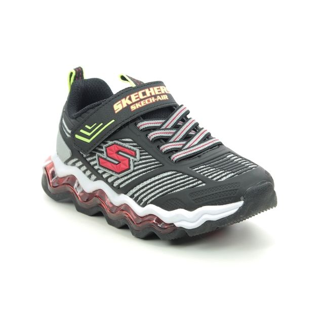 Skechers Trainers - Black-red combi - 97952L SKECH AIR WAVES
