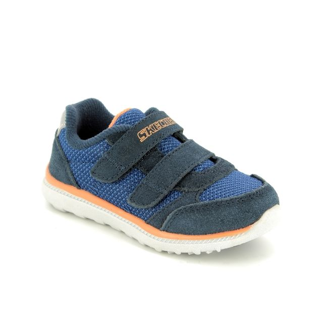 Skechers First Shoes - Navy-Blue - 97711 SKECH TRAX