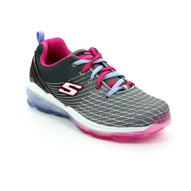 Skechers Everyday Shoes - Charcoal - 81195 SKECHAIR DELUX