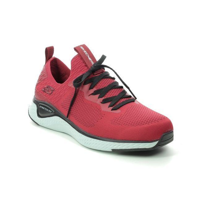 Skechers Trainers - Red-black - 52757 SOLAR FUSE