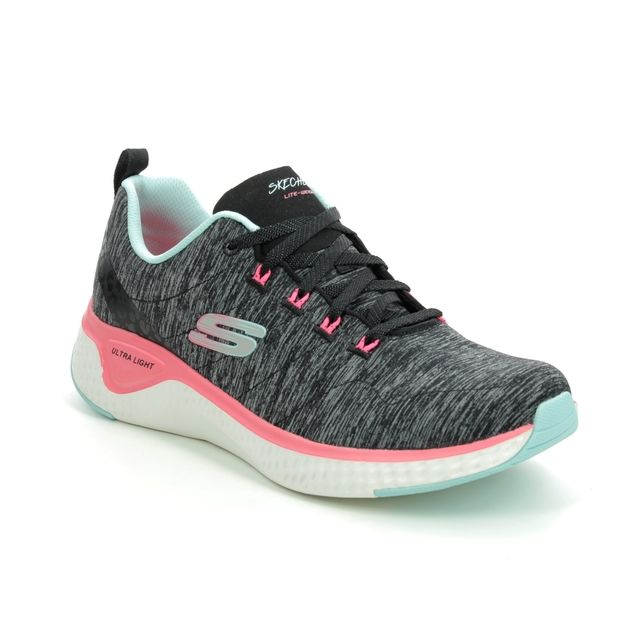 Skechers Trainers - Black - 149026 SOLAR FUSE LACE