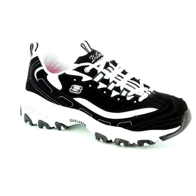 Skechers Sport Dlites 11930 BBK Black lacing shoes