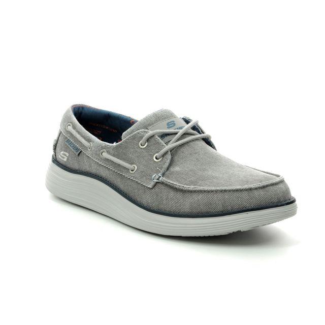 Skechers Status 2 Lorano 65908 LTGY Light grey casual shoes