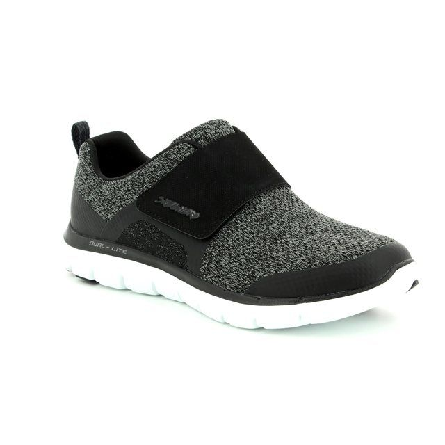 Skechers Trainers - Black-white - 12898 STEP FORWARD
