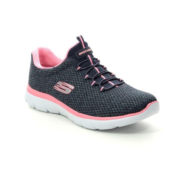 Skechers Trainers - Navy-Pink - 12986 SUMMITS STRIDI