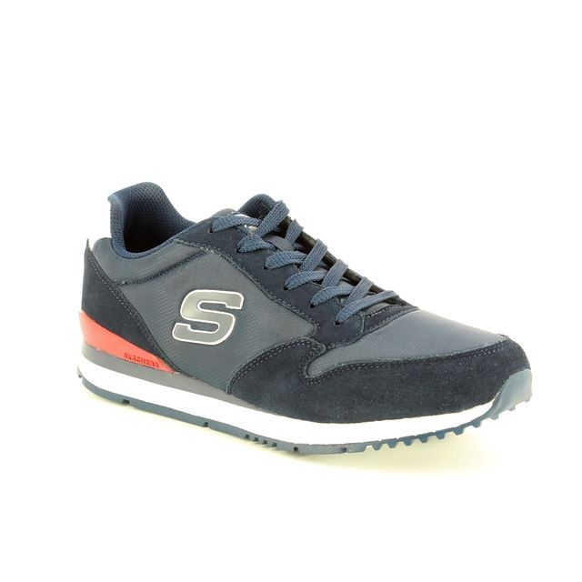 Skechers Trainers - Navy - 52384 SUNLITE