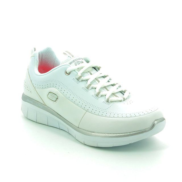 Skechers Trainers - White-silver - 12363/144 SYNERGY 2