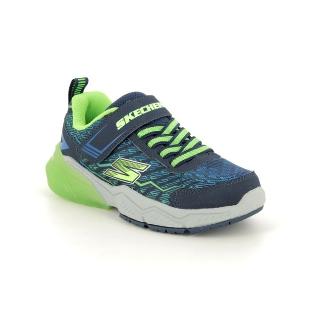 Skechers Trainers - Navy Multi - 97762 THERMOFLUX 2.0