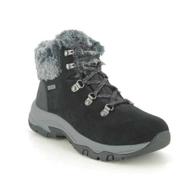 Skechers Winter Boots - Black - 167178 TREGO TEX