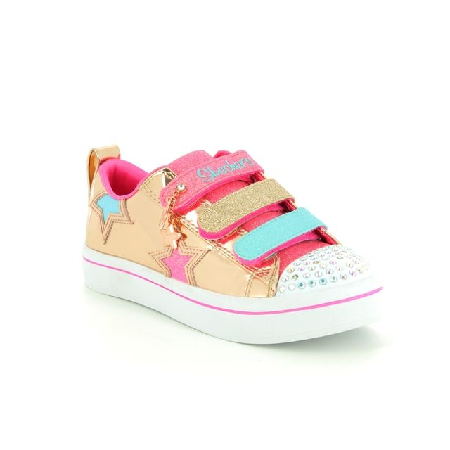 Skechers Trainers - Rose gold - 10981 TWI LITES