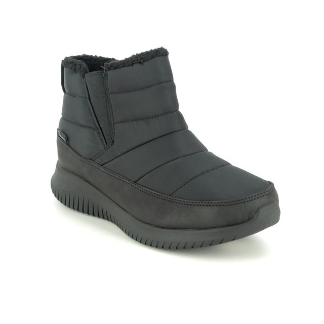 Skechers Winter Boots - Black - 44998 ULTRA FLEX SHAWTY